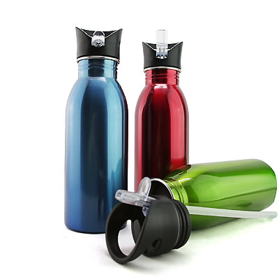 AMSB-1100 BPA-free Stainless Steel Sports Bottle (600ml)