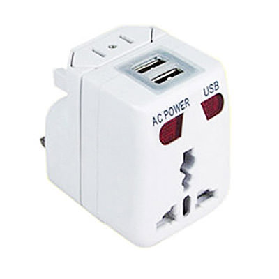 STA-11006 Travel Adaptor with 2 USB Port