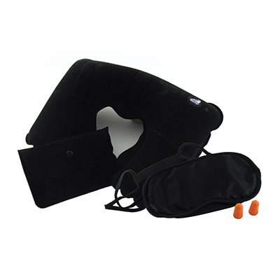 TA11001 Travel Kit (Travel Pillow, Eye Mask & Ear Plugs)