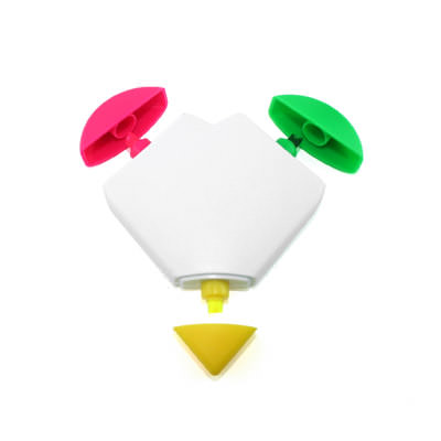 AMHL002 Heart-Shaped Highlighter (3 Colours)