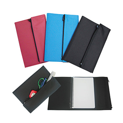 PSM1364 A5 Nylon Cover Notebook