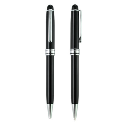 AMMP-007 Black Metal Ball Pen